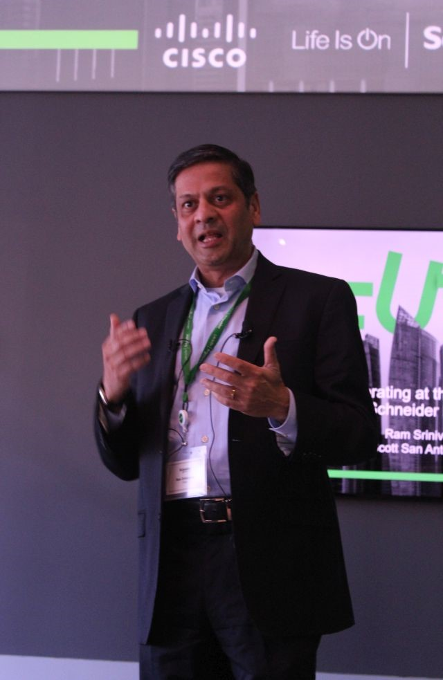 Ram Srinivasan, Cisco global accounts manager