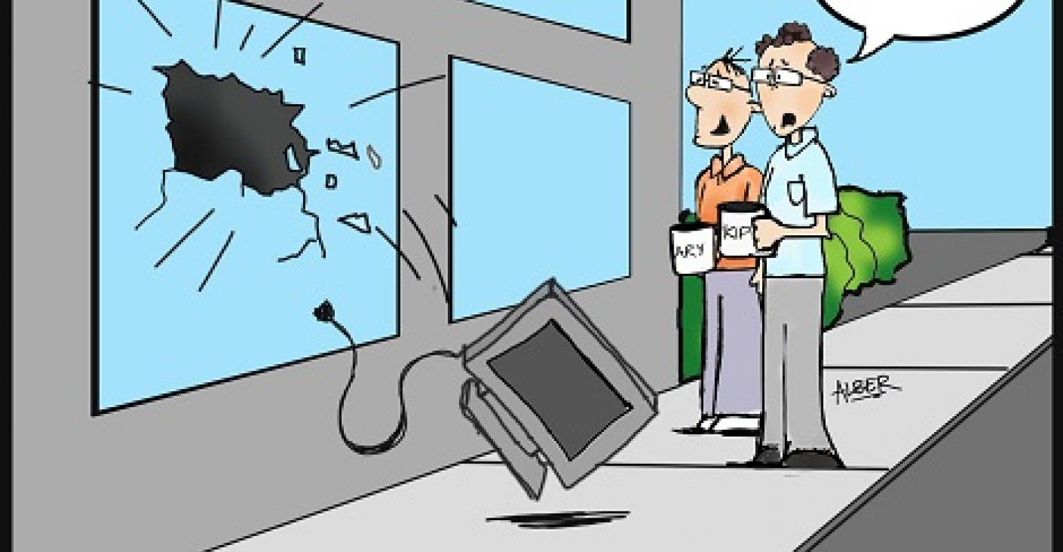 Friday Funny: Pick the Best Caption for 'Computer Crash