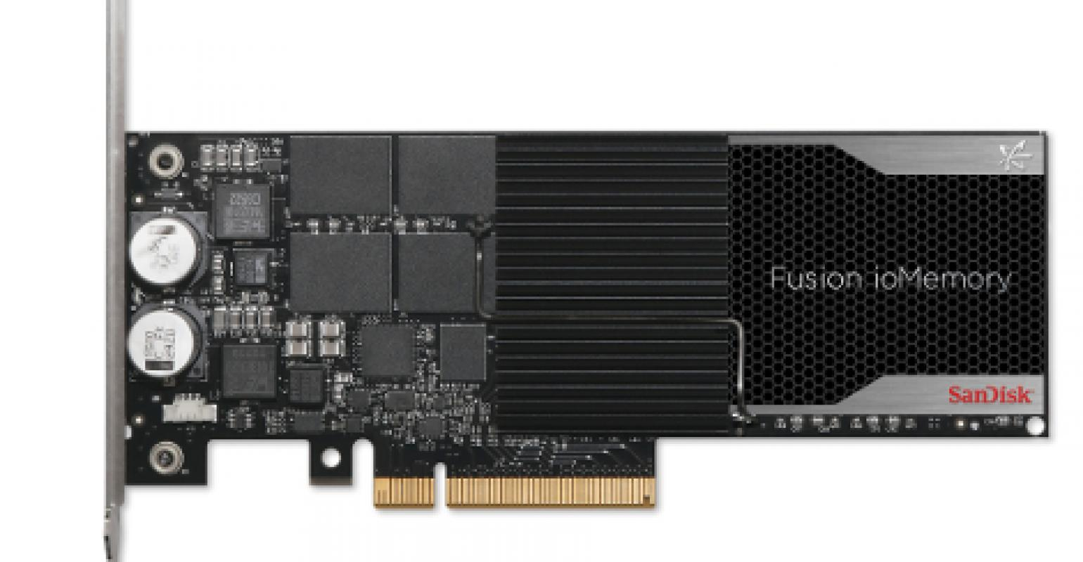 SanDisk: New Fusion-io PCIe Flash Cards Shrink Data Center