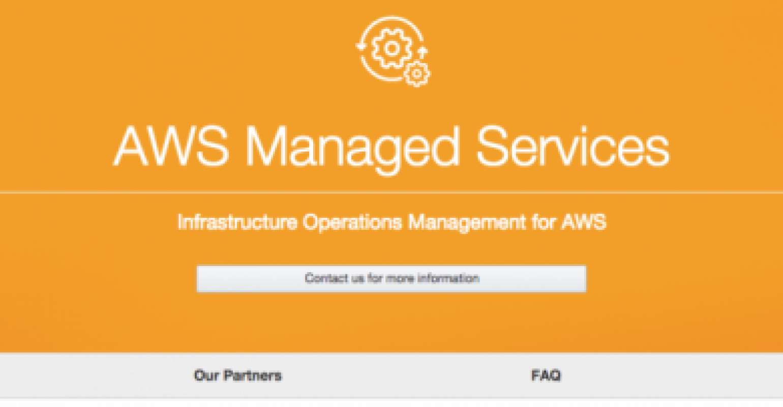 AWS Launches Managed Services | Data Center Knowledge