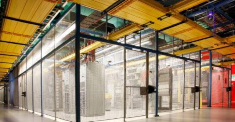Inside an Equinix data center in Silicon Valley