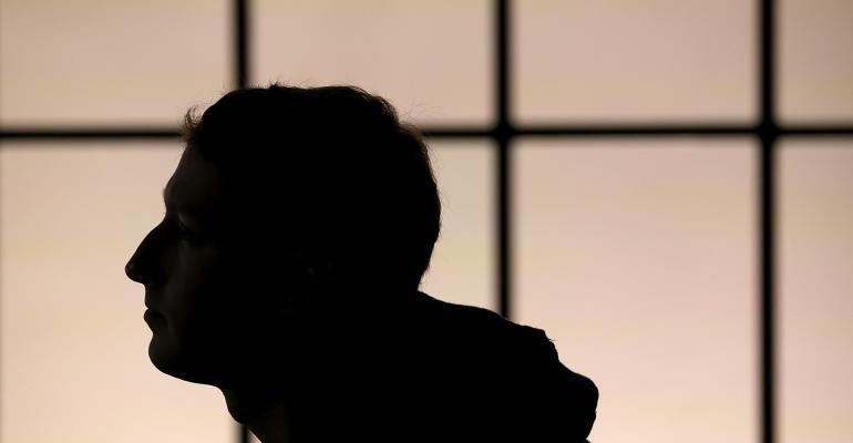 facebook zuckerberg silhouette