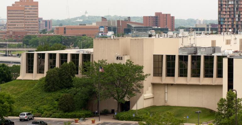 The 511 Building in Minneapolis, an important Midwestern network interconnection hub