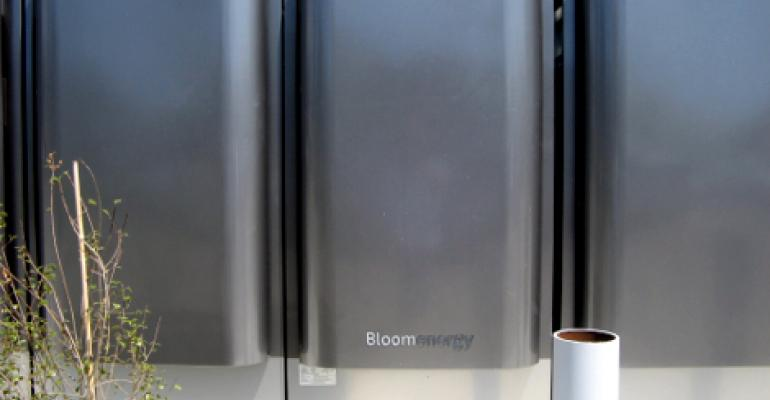 In a pilot deployment, CenturyLink has installed a 500kW natural-gas-powered fuel-cell installation by Bloom Energy at its Irvine, California, data center.