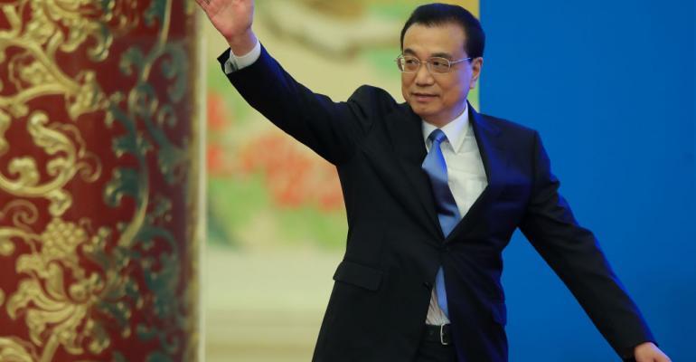 China's Premier Li Keqiang, March 2018