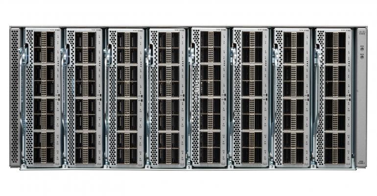 The Cisco Nexus 3408 400GbE switch