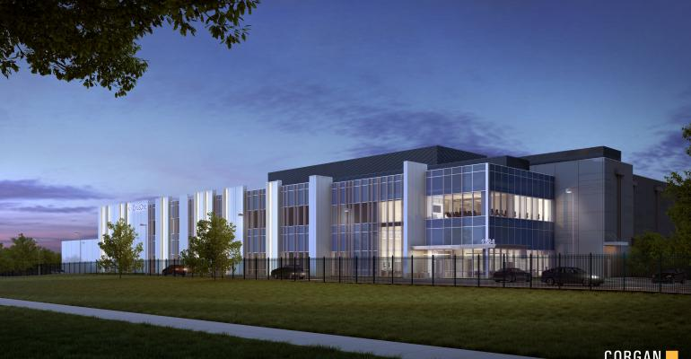CyrusOne's Sterling IX data center in Sterling, Virginia