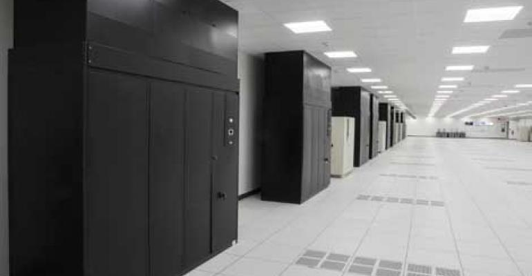 Air handlers in a DataBank data center
