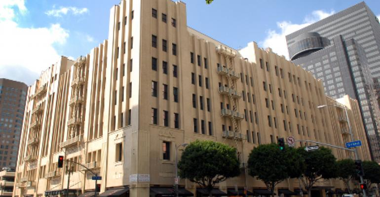 Digital Realty's carrier hotel at 600 W. 7th Street in Los Angeles