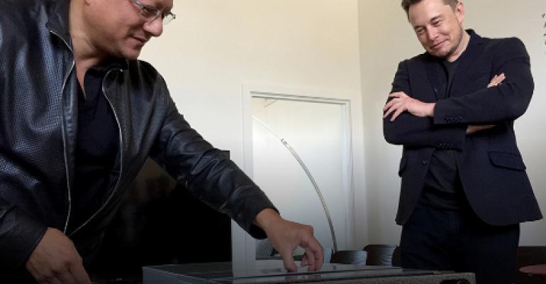 Elon Musk and Jensen Huang