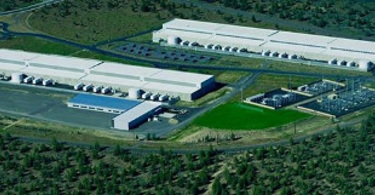 Facebook's Prineville data center