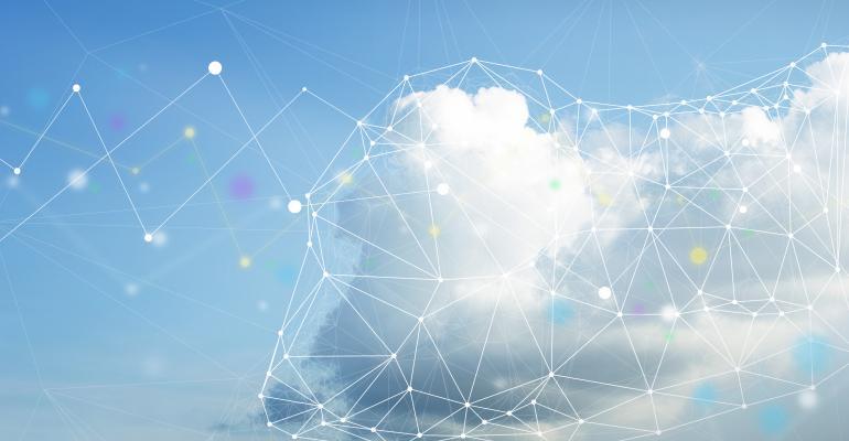 technology cloud computing sky
