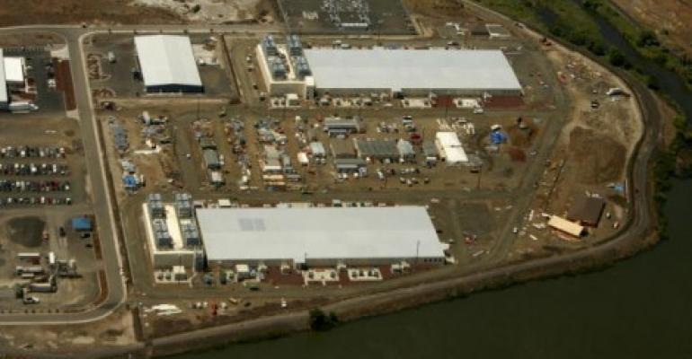 Google data center in Dalles, Oregon