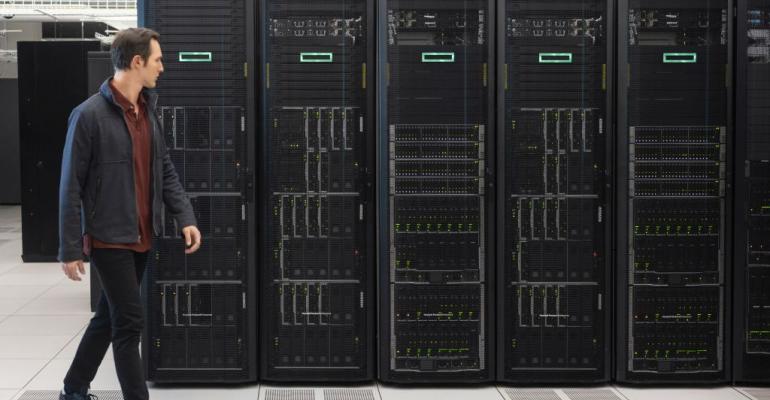 HPE data center racks