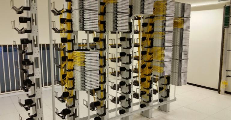 Data center network room