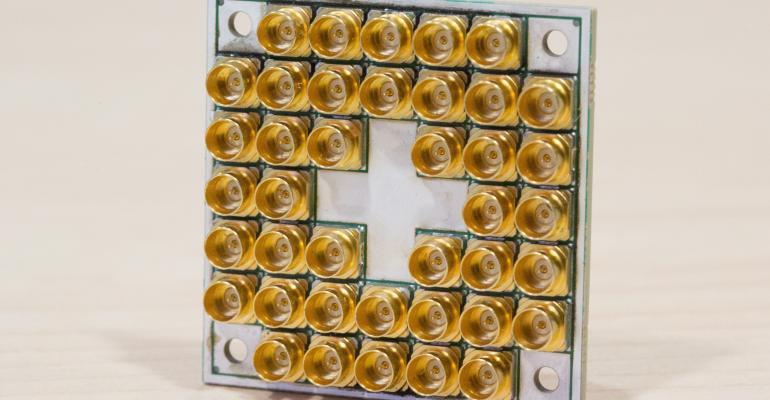 Intel's test 17-qubit chip for quantum computing
