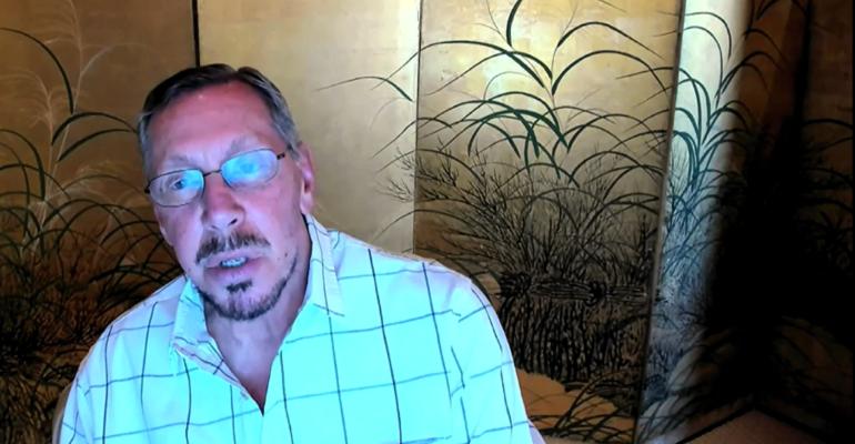 Larry Ellison at Oracle Live