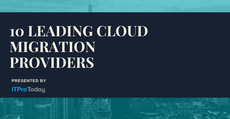 10 Leading Cloud Migration Providers