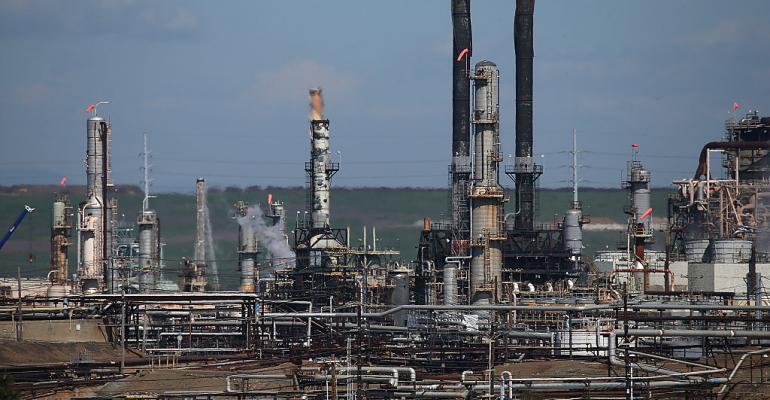 chevron refinery richmond