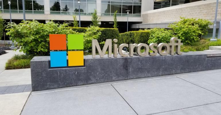 Microsoft Logo Redmond Campus