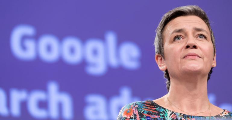 European Commissioner for Competition Margrethe Vestager