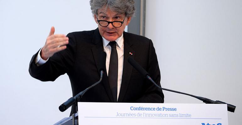 Atos CEO Thierry Breton