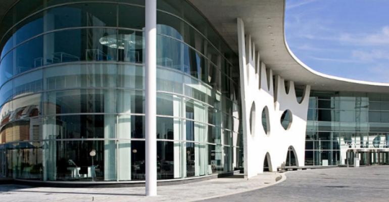 IBM makes announcement at Fira Gran Via, the venue for this year's VMworld.