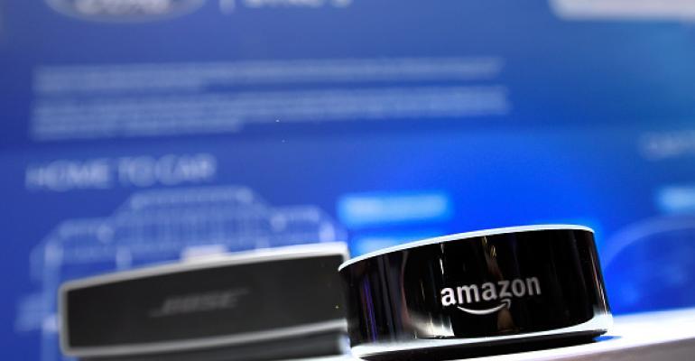 Amazon Echo at CES 2017
