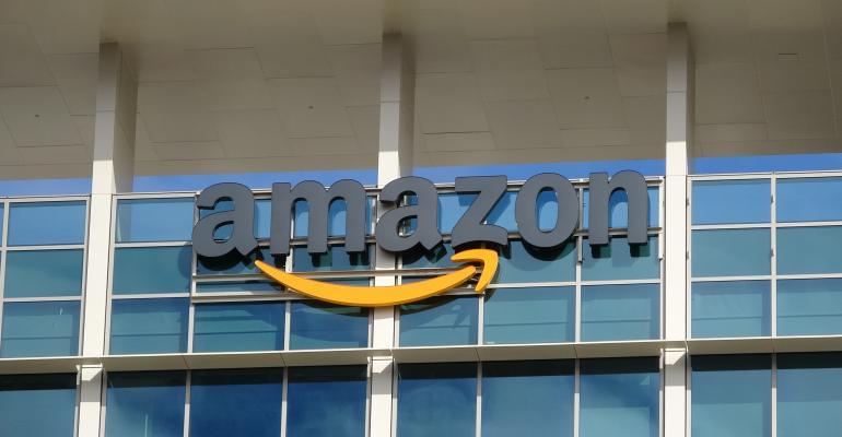 amazon building logo