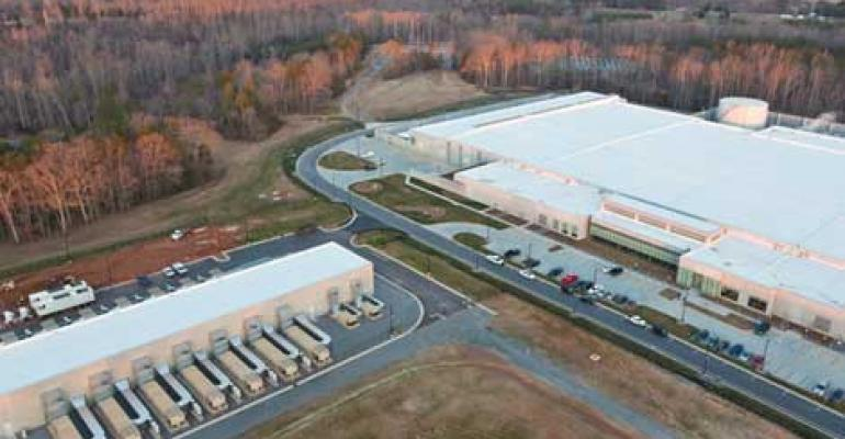 The Apple data center in Maiden, North Carolina