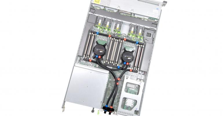 Asetek's direct-to-chip liquid cooling solution