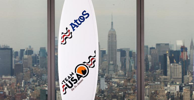 Atos Team USA surfboard