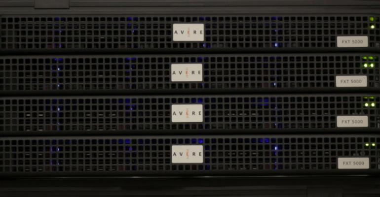 The Avere FXT Series Edge Filer cluster