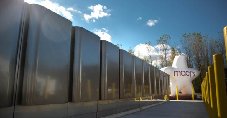 Bloom Energy Servers deployed at a Macy's facility