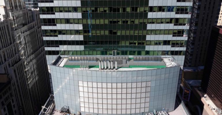 A big rooftop customer deployment of Bloom Energy Servers