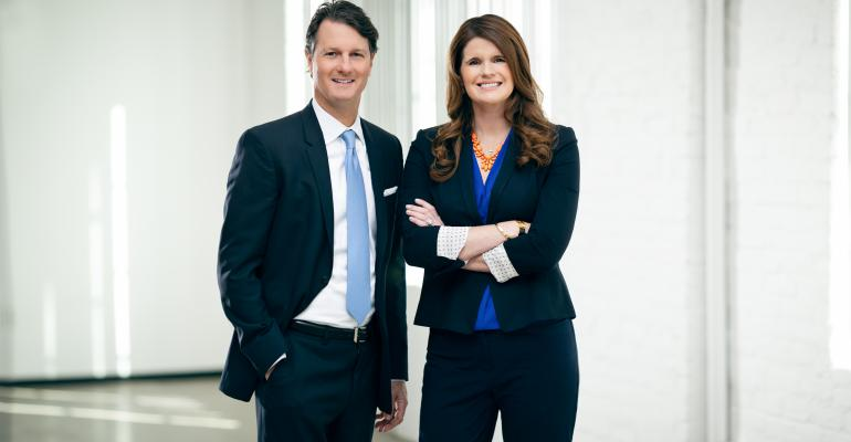 Bo Bond (L) and Ali Greenwood, executive managing director and executive director, respectively, of Cushman & Wakefield's Global Data Center Advisory