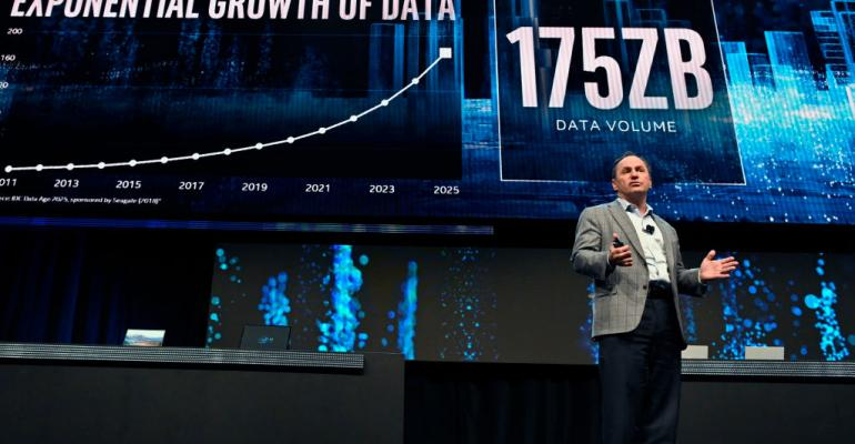 Intel CEO Bob Swan during an Intel press event for CES 2020 in Las Vegas
