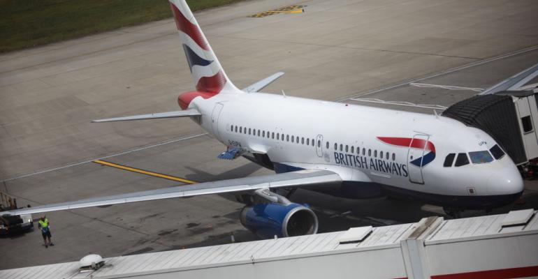 British Airways aircraft at Heathrow, May 2017