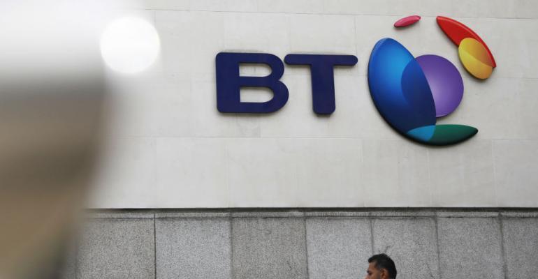 BT headquarters in London, 2018