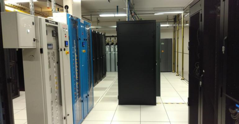 Inside Interxion's MRS1 colocation data center in Marseille