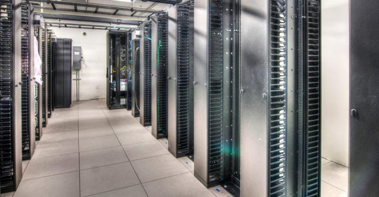 Inside CoreSite's Reston, Virginia, data center