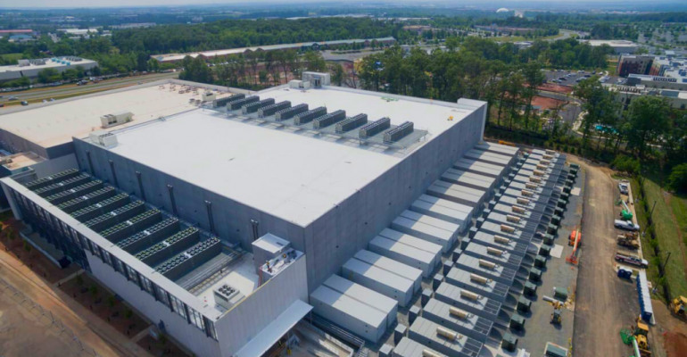 Part of CyrusOne's Sterling, Virginia, 420,000-square foot data center campus