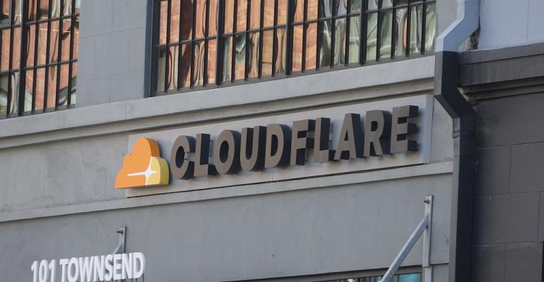 Cloudflare headquarters in San Francisco