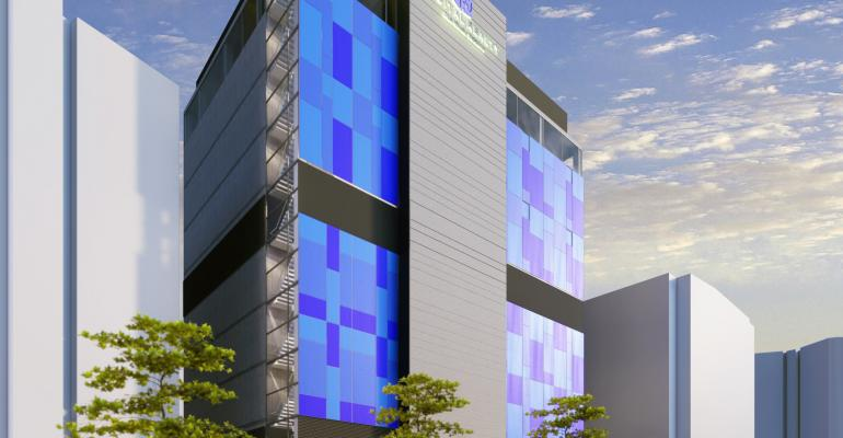 Rendering of Digital Realty's future Seoul data center