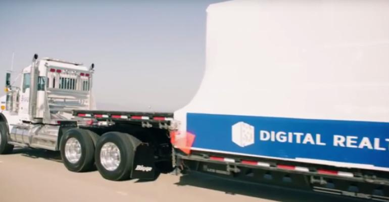 Digital Realty truck