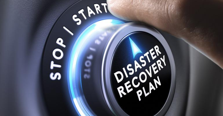 disaster recovery plan on a lock