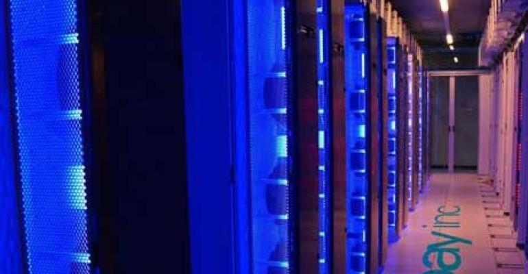 A data hall inside eBay's Phoenix data center