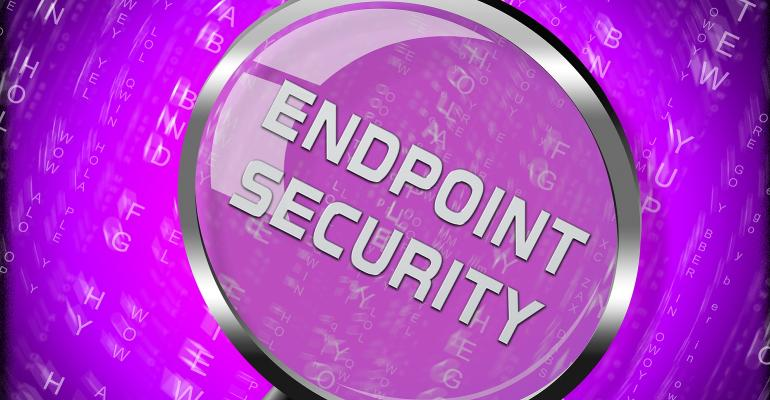 looking at endpoint security through magnifying glass
