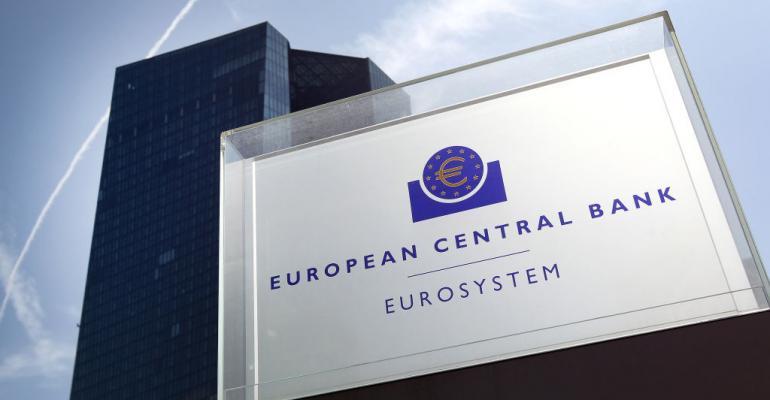 European Central Bank headquarters in Frankfurt, 2019