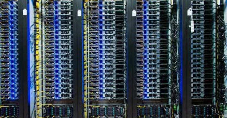 Facebook data center in Lulea